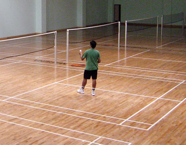Manipal University-Marina Sports Complex-Badminton