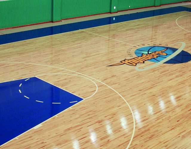 Samsung Thunders Basketball Court