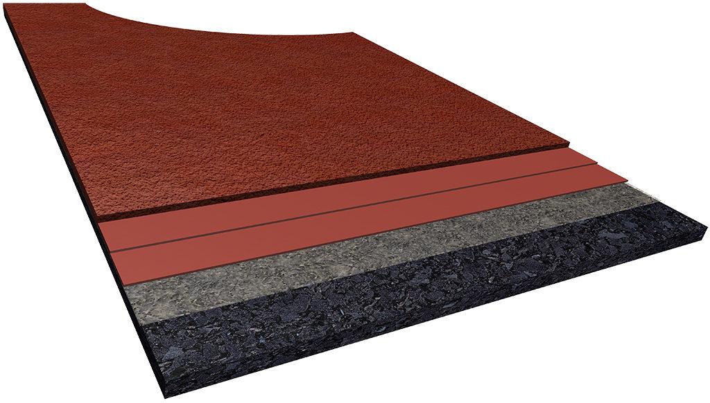 Synthetic Sports Flooring Polyurethane Epoxy Floors
