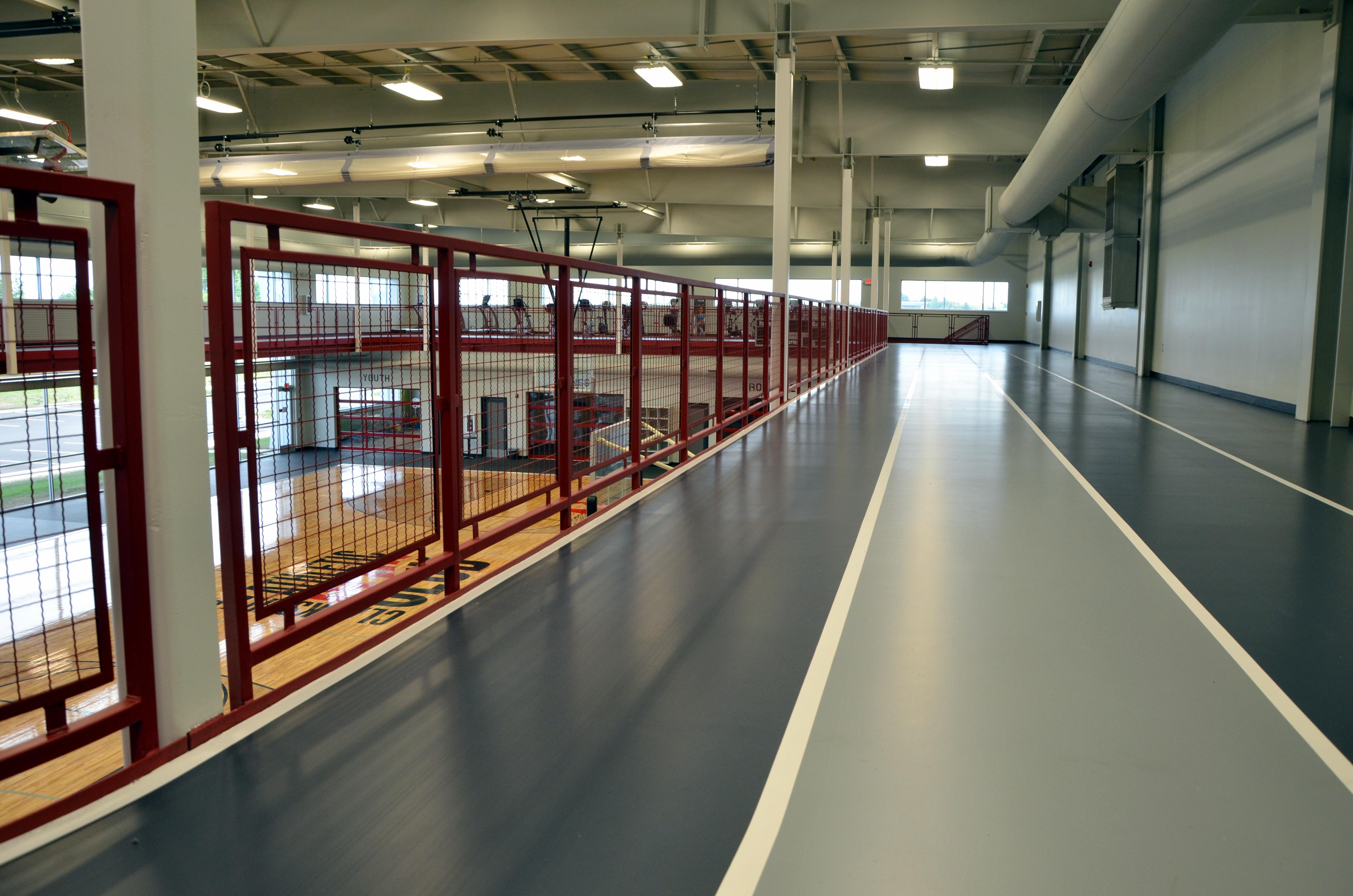Synthetic floor installations epoxy flooring for schools for Clarksville flooring