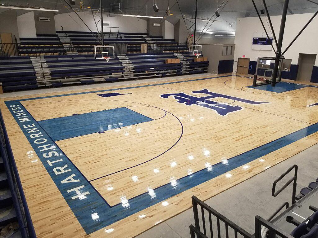 Commercial Epoxy Sports Floor Coating K 12 Installations