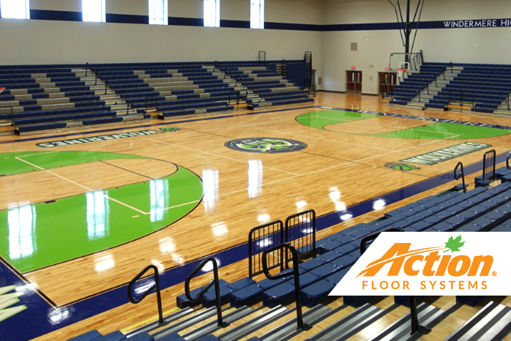 windermere high school sports floor